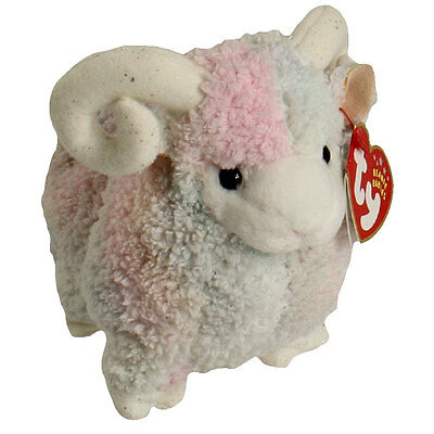 TY Beanie Baby - BAM the Ram (6 inch) - MWMTs Stuffed Animal Toy