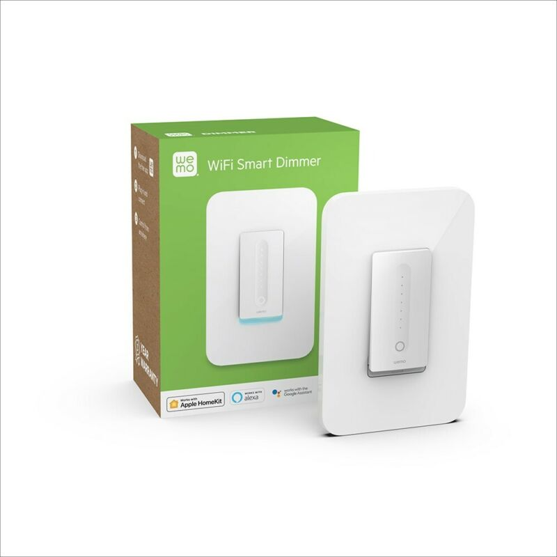 Wemo, smart dimmer Touch Screen Smart Home Switch/controller