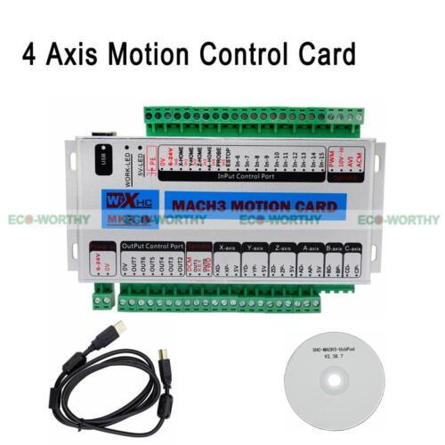 Manuell CNC 5-Achse Offline Motion Controller MACH3 500KHz USB-Motion-Controller