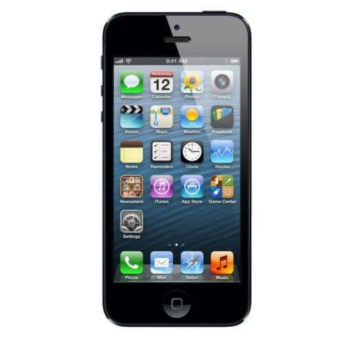 "Apple iPhone 5 16GB ""Factory Unlocked"" iOS Black and White Smartphone"