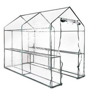 AUS FREE DEL-1.9x1.2M Garden Greenhouse w/ Transparent PVC Cover Sydney City Inner Sydney Preview