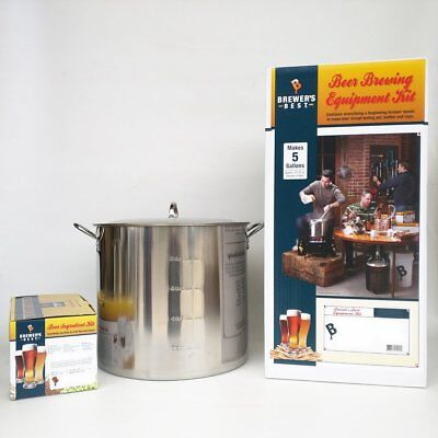 Brewer's Best Deluxe Equipment Kit (w/ Better Bottle) with Double IPA Beer