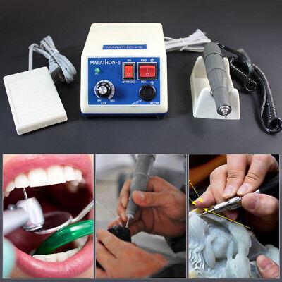 Dental Lab Marathon Polisher Electric Micromotor35k Rm Polishing Handpiece Usa