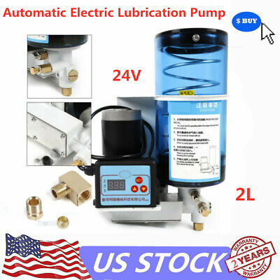Electric Grease Pump Oil Lubricant Pump Oiler Punch Butter Pump 2l 24v 6mpa New