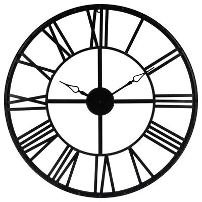 Wanduhr Moderne Uhr Dekouhr Metallwanduhr Wohnuhr Designer Wohnzimmeruhr ✅Ø70 cm