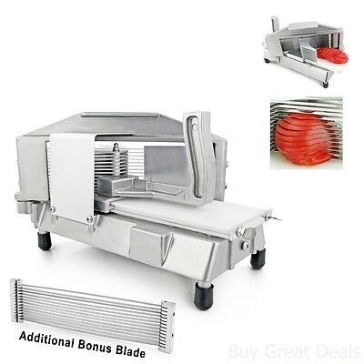Tomato Slicer Commercial Blade Restaurant Cutter Stainless Steel Blades 3 16 Cut