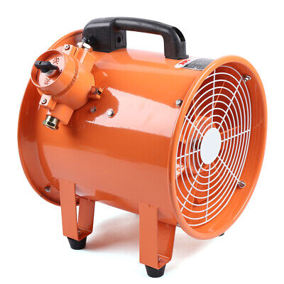 Atex Rated Ventilator Explosion-proof Axial Fan 12 110v Extractor Fan Blower