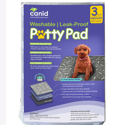 Dog Resuable Potty Pad   Eco-Friendly Dog House Training Pads - 3 pcs (Eco Friendly Dog House)