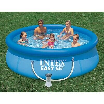 """Intex 10'x30"""" Easy Set Above Ground Swimming Pool W/ Filter Pump - FAST SHIPPING"""