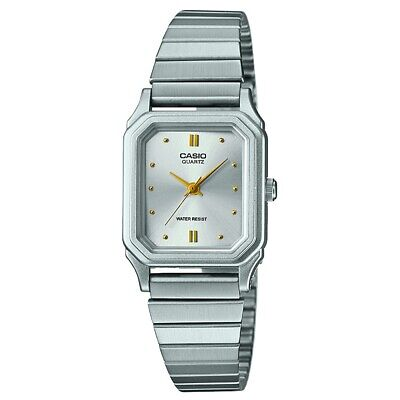 Casio LQ-400D-7AEF Ladies Core Silver Steel Bracelet Watch RRP £20