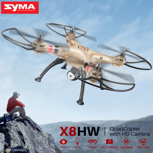 Pro Drone SYMA X8HW RC Quadcopter FPV HD Wifi Camera Altitude Hold Xmas Gift Toy