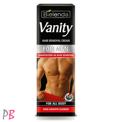 Bielenda Vanity Man Hair Removal Cream Instant All Body for Men Epilation