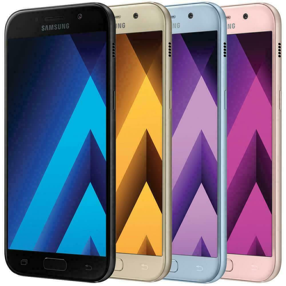 Android Phone - New Factory Unlocked SAMSUNG Galaxy A5 2017 32GB Android Phone