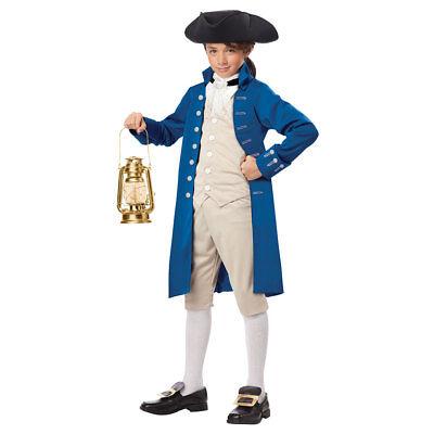 Boys Paul Revere Halloween Costume (Paul Revere Costume)