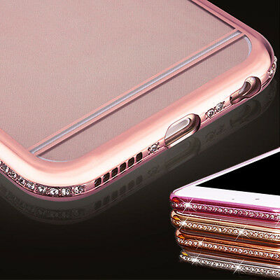 Diamond Glitter Bling Hard Phone Case Sparkling Cover For iPhone 5 6 6s Plus