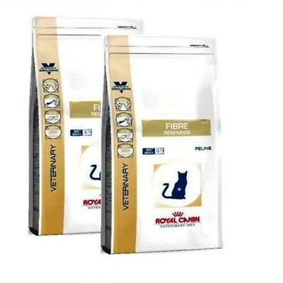 2x 4kg ROYAL CANIN  Fibre Response FR 31 Veterinary Diet Bravam