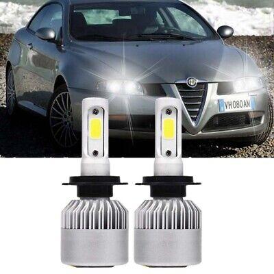 Alfa Romeo GT H7 H6W 55w ICE Blue Xenon HID Low//Side Headlight Bulbs Set
