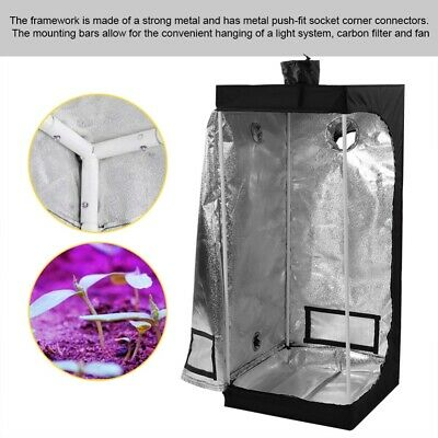 Indoor Grow Tent Hydroponic Gardening Bud Box Plant Growing Dark Room System