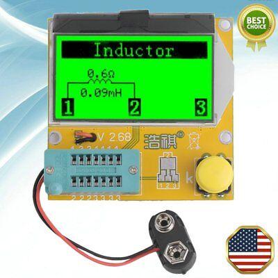 Mega328 LCR-T3 Transistor Tester Diode Triode Capacitance LCR Meter Module AL US
