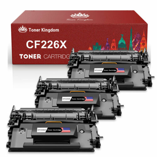 5 Pack CF226X 26X Toner Cartridge For HP LaserJet Pro M402dn M402n MFP M426fdw