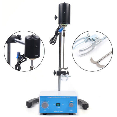 200w Height Adjustable Mixer Biochemical Tool Electric Overhead Stirrer Mixer