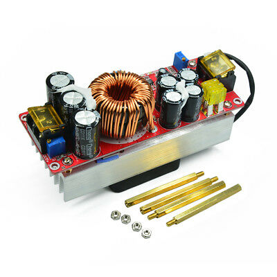 1500w 30a Dc-dc Boost Converter 10-60v To 12-90v Step Up Power Supply Module Us