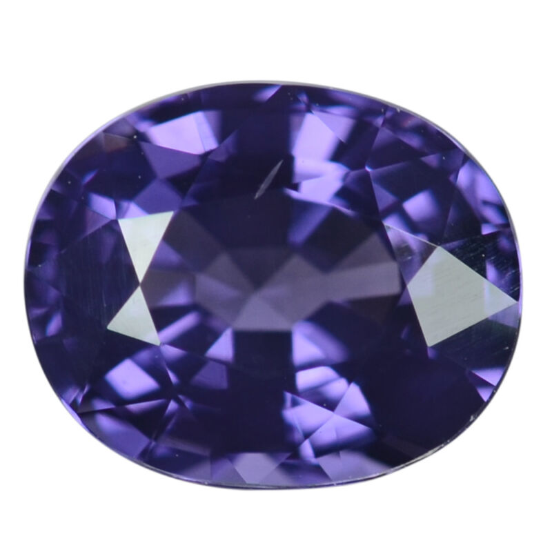 1.28 Ct. Imperial Oval Cobalt Blue Spinel Gemstone WITH GLC CERTIFY
