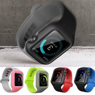 For Apple Watch Series 3/2/1 42mm, i-Blason Watch Band Case Stylish Sleek Cover