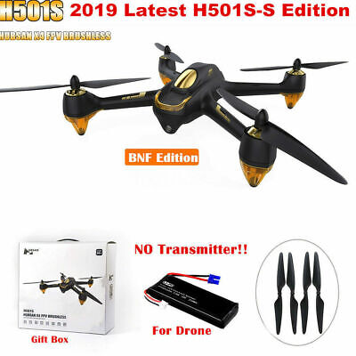 Hubsan H501S S X4 Drone 5.8G FPV Brushless 1080P Camera Quadcopter GPS RTH BNF