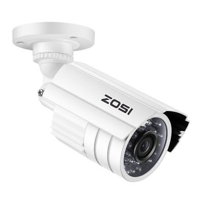 ZOSI 960H 800TVL 3.6mm Outdoor 65ft Night Vision CCTV Bullet Security Camera