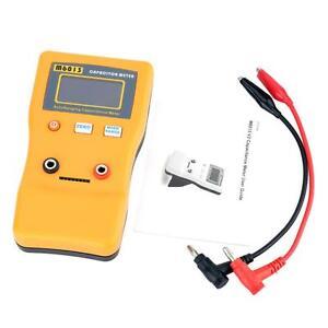 M6013 Auto Range ESR Capacitor Meter Capacitance Circuit Tester fr DIY User AB81