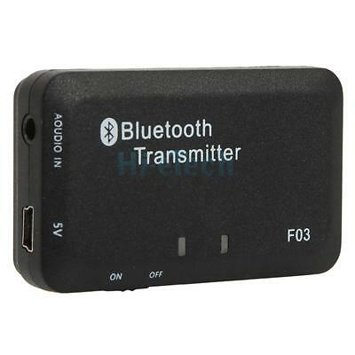 3.5mm Stereo Bluetooth Audio Transmitter A2DP Dongle Adapter for iPod PC TV