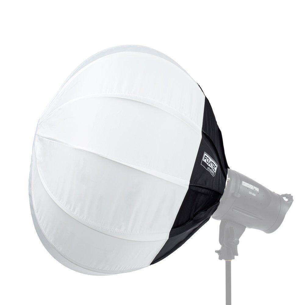 Fovitec Studiopro - 63cm Globe Lantern Softbox Diffuser & Speedring Mount