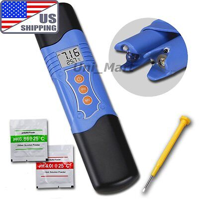US 3 in 1 Water Tester Waterproof pH ORP Temperature Meter Oxidation  ±1999mV on Rummage