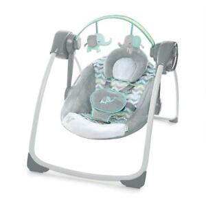 NEW Ingenuity Comfort 2 Go Portable Swing, Jungle Journey Condtion: New