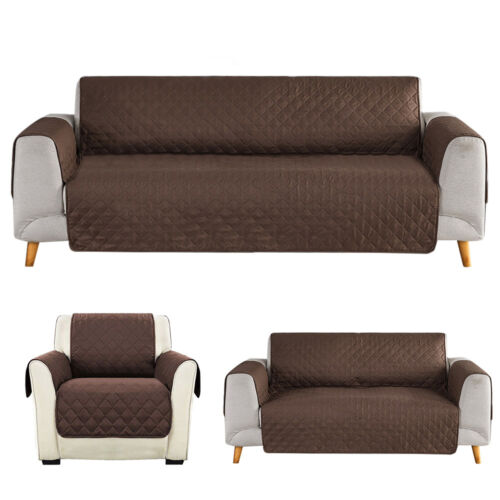 Details about 1 2 3 Seater Sofa Cover Chair Couch Loveseat Slipcover Pet  Dog Kid Mat Protector