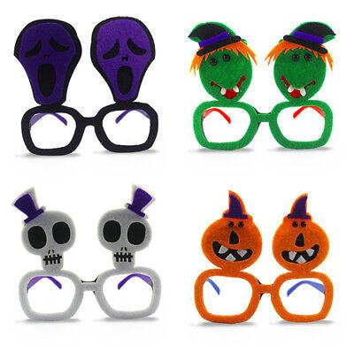 Halloween Skeletons Makeup (Cosplay Witch Skeleton Shape Plastic Make-up Ball Halloween Glasses)