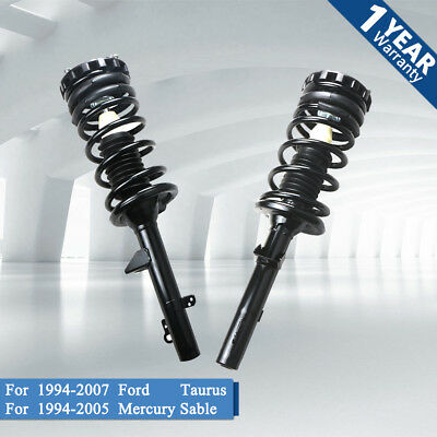 Ford Taurus Rear Struts - Pair Rear Complete Strut Shock For 1994-2005 Mercury Sable 1994-2007 Ford Taurus