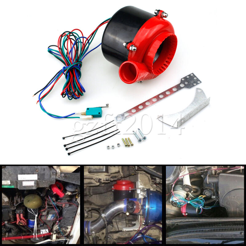 Universal Car Fake Dump Electronic Turbo Blow Off Hooter Valve Analog Sound BOV