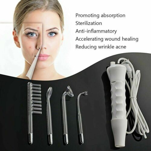 Portable High Frequency Facial Machine Wrinkle Beauty Device Skin Spot Remover 3