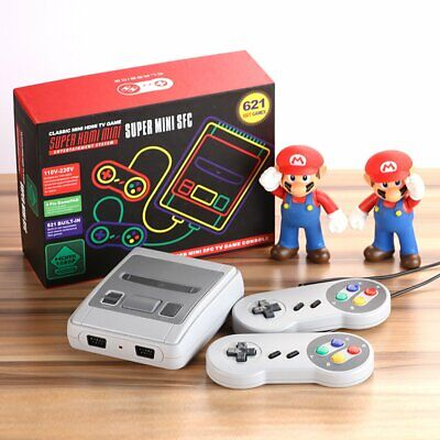 621 Games in 1 Classic Mini Game Console for NES Retro TV...