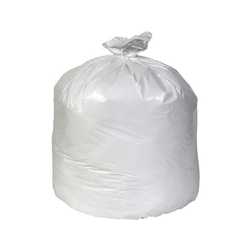 Brighton Trash Bags 30-33 Gallon 33x39 Low Density 0.74 Mil White 150 CT 814876