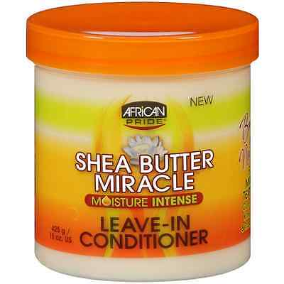 African Pride Shea Butter Moisture Intense Leave-In Conditioner 15 oz African Pride Leave In Conditioner