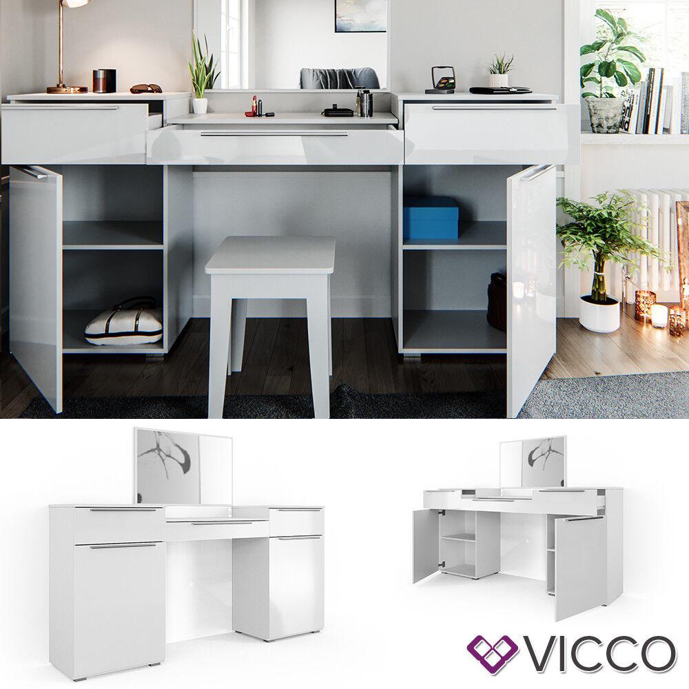 Vicco Dressing Table Lilli White High