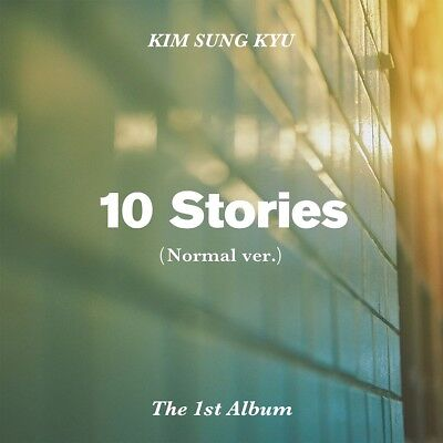 KIM SUNG KYU INFINITE - 10 Stories [Normal ver.] CD+Poster+Gift+Tracking no.