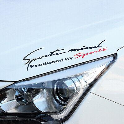 Racing Sports Mind Car Decal Headlight Stickers Auto Reflective Vinyl Graphics