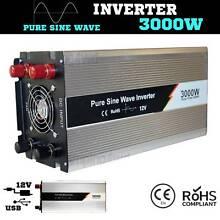 3000W / 6000w Pure Sine inverter Wave 12V-240V Power caravan 4x4 Craigie Joondalup Area Preview