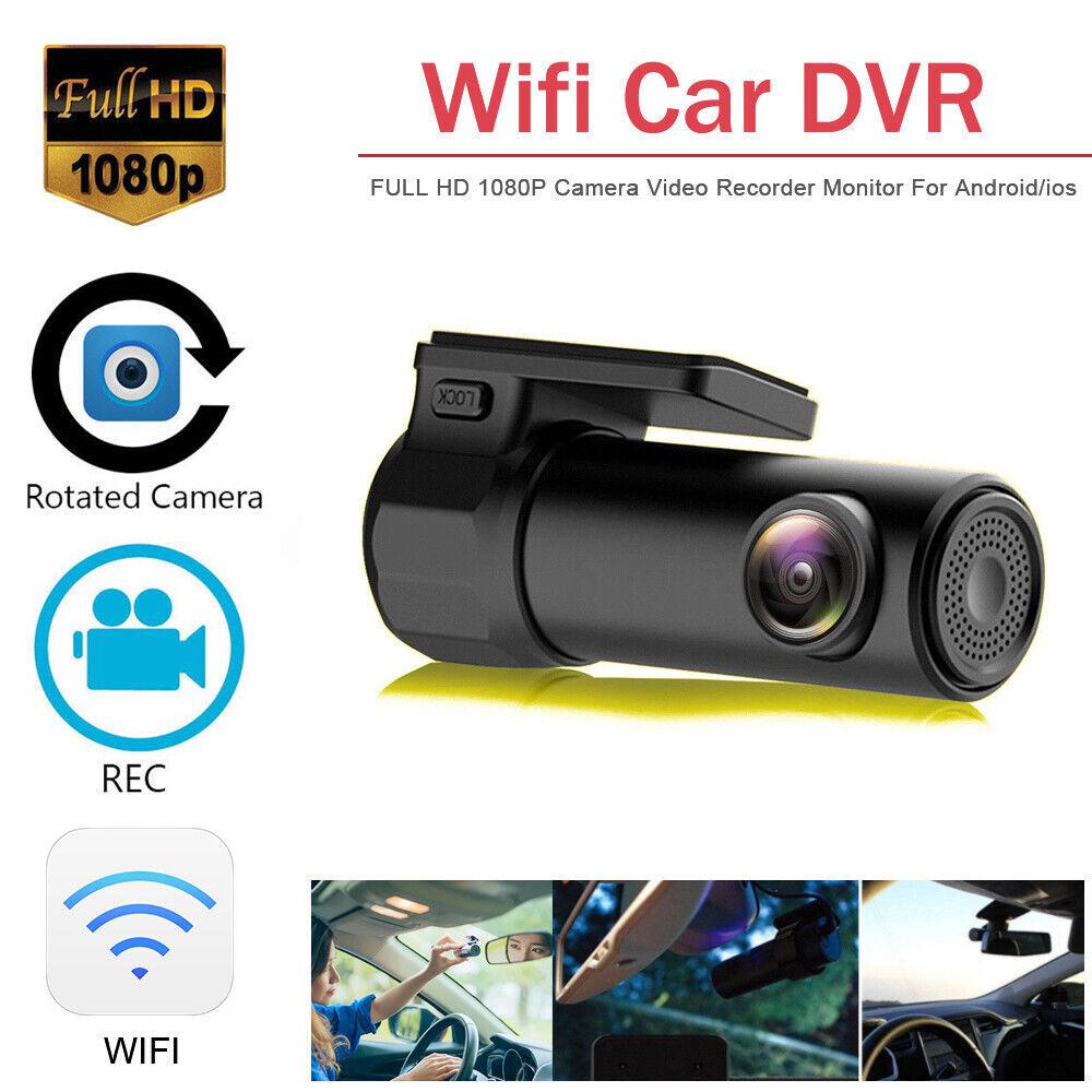 170° WIFI Dash Cam 1080P HD Vehicle Car DVR Video Recorder