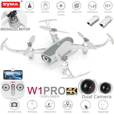 Syma W1PRO 2.4G-5G RC Quadcopter GPS Brushless Drone HD Camera Christmas Flair