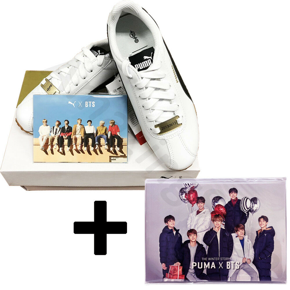 BTS Official Goods - PUMA X BTS TURIN Shoes + Photo Card + Free Photobook 22Page
